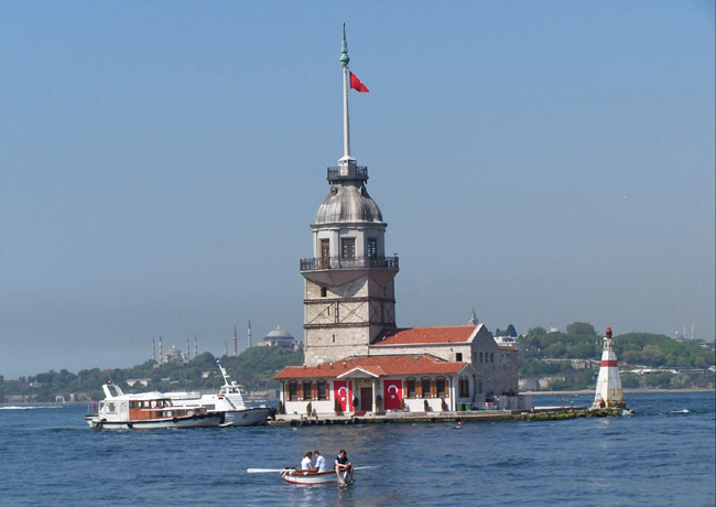 BOSPHOUS CRUISE WITH ASIAN SIDE AND MAIDEN TOWER