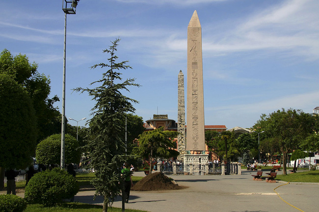 Historical Treasuries Hippodrome, Egyptian Obelisk