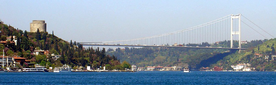Bosphorus Cruise with Asian Side Bosphorus Bridge